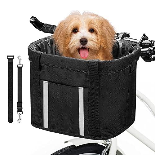 Anzome -   Hunde Fahrradkorb,