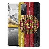 KX-Mobile Hülle für Samsung S20 FE Handyhülle Motiv 1049 Flagge DDR Ostdeutschland Zone Premium Silikonhülle SchutzHülle Softcase HandyCover Handyhülle...