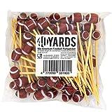 40YARDS American Football Zahnstocher / Partypicker /
