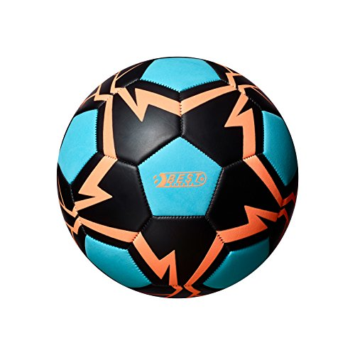 Best Sporting Fußball Glow In The Dark, Farbe:blau/orange