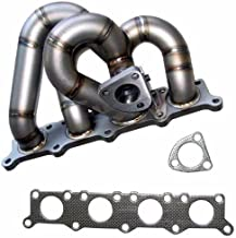 XS Power 3mm Cast Piping Turbo Manifold Superior Durability for 1.8T B5 Audi A4 VW Passat