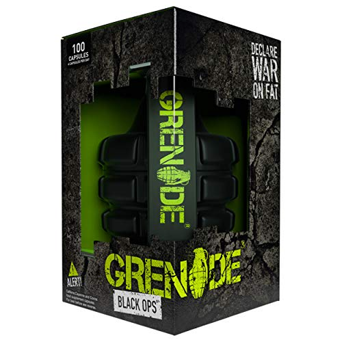 Grenade Black Ops Weight Management Capsules - Pack of 100 Capsules