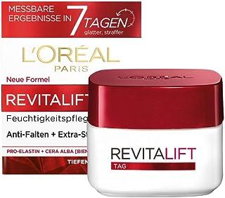 """L""""Oréal Paris Tagespflege, Revitalift, Anti-Aging Gesichtspflege, Anti-Falten und Extra-Straffheit, Pro-Elastin und Bienenwachs, 50ml"""