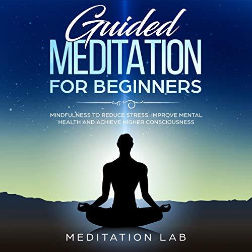 『Guided Meditation for Beginners』のカバーアート