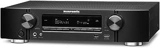 Marantz NR1607 50W 7.2canales Envolvente 3D Negro - Receptor AV (50 W, 7.2 Canales, Envolvente, 100 W, Terminales de Abrazadera, Alámbrico)
