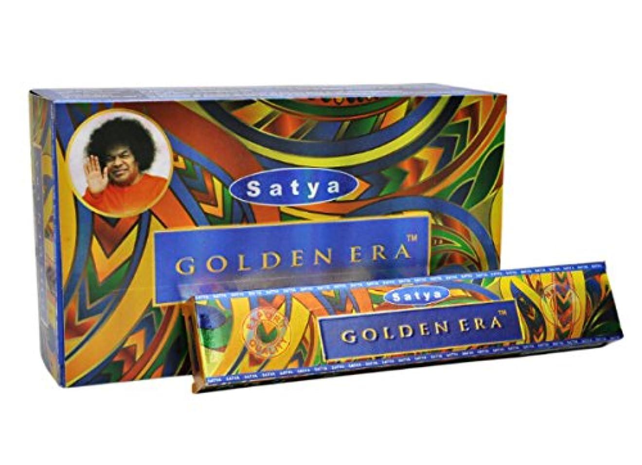 偽善不名誉なふりをするSatya Golden Era お香スティック 180gフルボックス