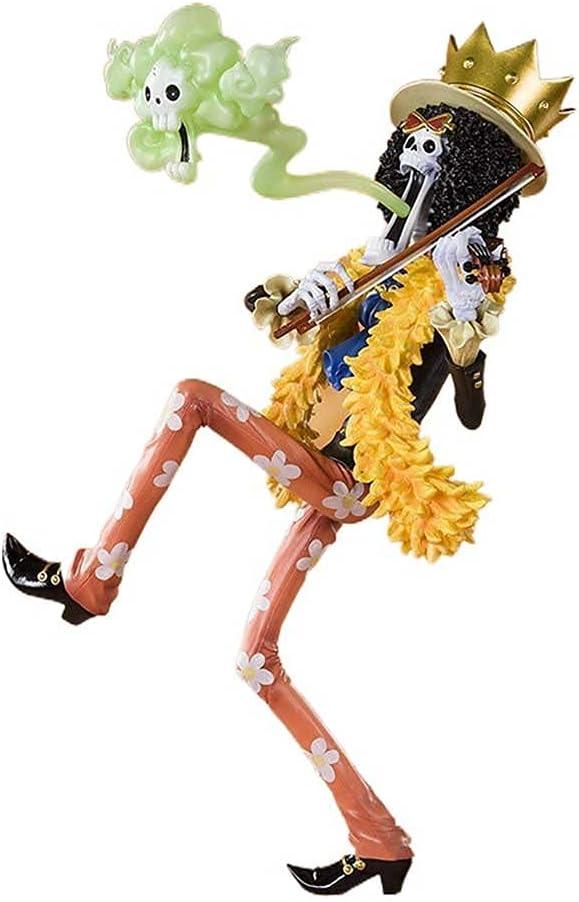 JJWAN One Piece Straw Hat Pirates Brook Soul Bo King Figma GK Direct stock Memphis Mall discount of