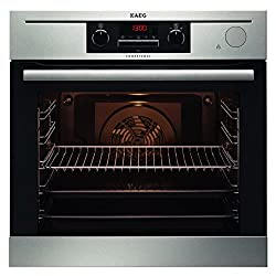 AEG BP5014321M built-in oven / A + / 72 L / anti-finger stainless steel coating / ThermiC ° Steam