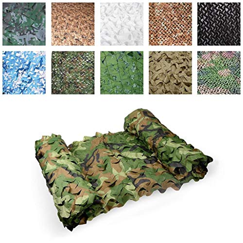 Lightweight Army Camouflage Netting Camouflage Net, Sunshade Net Sunscreen Net Tent, Suitable For Camping Shooting Children Outdoor Photography Decorative Garden 2 × 3m (multiple Size Optional)