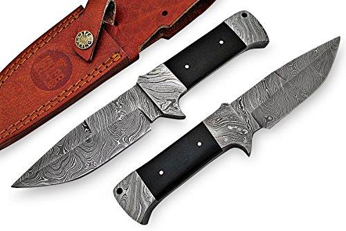 Knife King Custom Damast Bowie Messer Jagdmesser Mit Lederscheide…