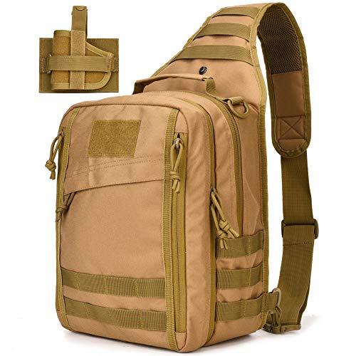 Tactical Sling Bag Pack Military Sling Backpack Assault Range Bag