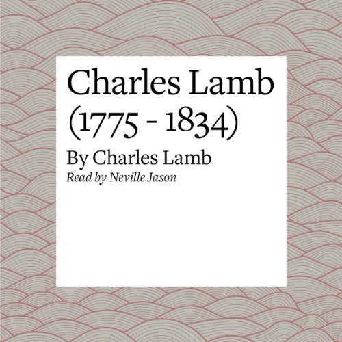 Charles Lamb (1775 - 1834) audiobook cover art