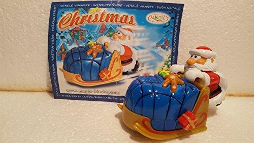 Kinder Überraschung : Nikolaus heisser Schlitten aus dem Maxi - Ei