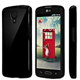 PimpCase Compatible with LG Volt LS740 Case, Clear Crystal Thin Slim Soft TPU Protective Cover with Transparent Bumper Gel CasePimpCase Compatible with LG Volt LS740 - Black