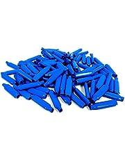 Muttiy B Connectors Silicone Filled Wet B Gel Wire Crimp Bean Type Splice for Low Voltage, Blue (200 stuks)