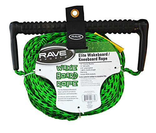 RAVE 3-Section Wakeboard/Kneeboard Rope