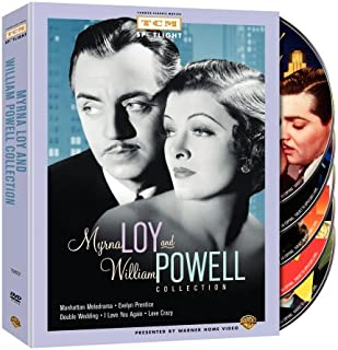 Myrna Loy and William Powell Collection: (Manhattan Melodrama / Evelyn Prentice / Double Wedding