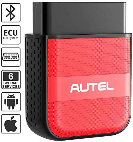 Autel AP200M OBD2-Diagnosegerät 6 Service Rücksteller EPB Öl LWS DPF etc, universal Obd2-Bluetooth-Adapter für ALLE Systeme, IOS & Android kompatibel (2020 Neueste)
