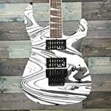 Jackson X Series Soloist SLX DX Swirl - Guitarra eléctrica, color blanco satinado