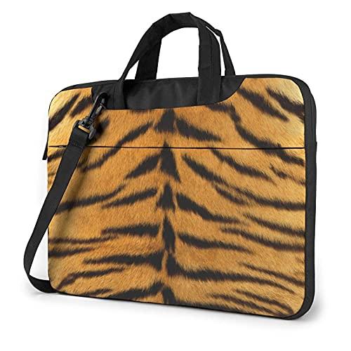 Funda para portátil Estilo Leopardo Bolso de Neopreno Lindo Elegante para portátil de 14 Pulgadas