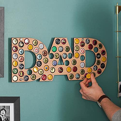 Colección de tapa de cerveza, tapa de cerveza, tapa de cerveza, colección de cerveza, regalo único para el día del padre, 508 mm (#1)