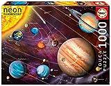 Educa Borrás-1000 Sistema Solar Fluorescente, Color (14461)