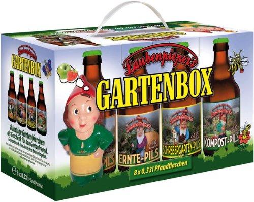 Cerveza y más Jardín cerveza Caja en 8de regalo (8x 0.33l)