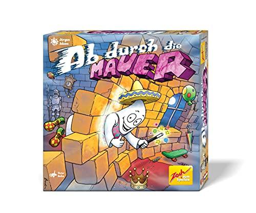 Zoch 601105134 - Ab durch die Mauer, Gewinner des innoSPIEL 2019, Geisterburg Spiel mit magnetischen Geistern, Kinder- und Familienspiel, 2-4 Spieler, ab 7 Jahren