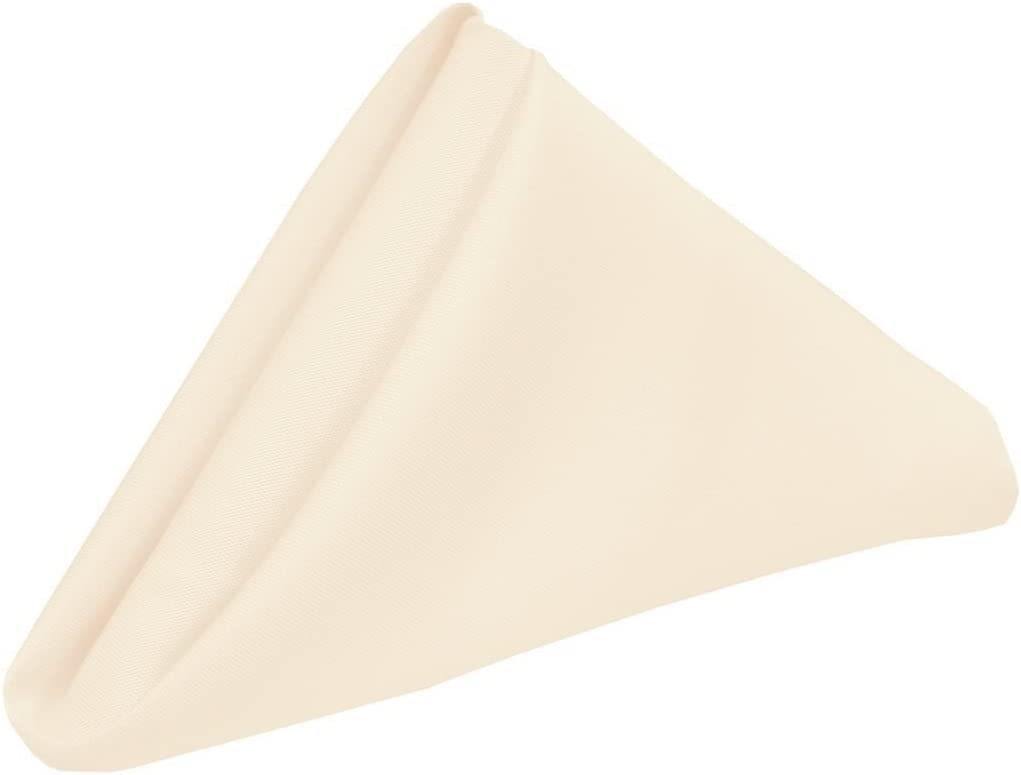 Regular discount Cotton Napkins - Pack of Sacramento Mall 100 12 x Table inch Cloth Dinner N