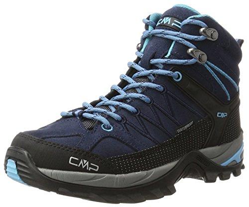 CMP Damen Rigel 3Q12946, Trekking- & Wanderhalbschuhe, Blau (B.Blue-Clorophilla), 37 EU