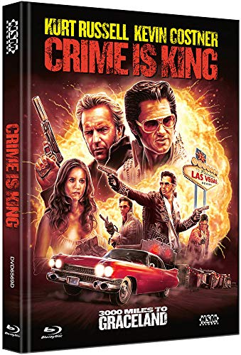Crime is King - 3000 Miles to Graceland [Blu-Ray+DVD] - uncut - limitiertes Mediabook Cover D
