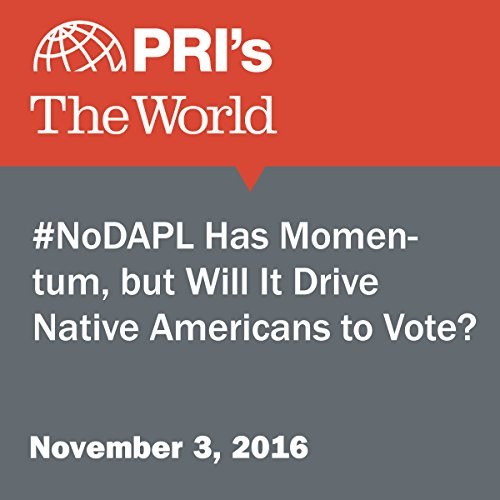 #NoDAPL Has Momentum, but Will It Drive Native Americans to Vote? audiobook cover art