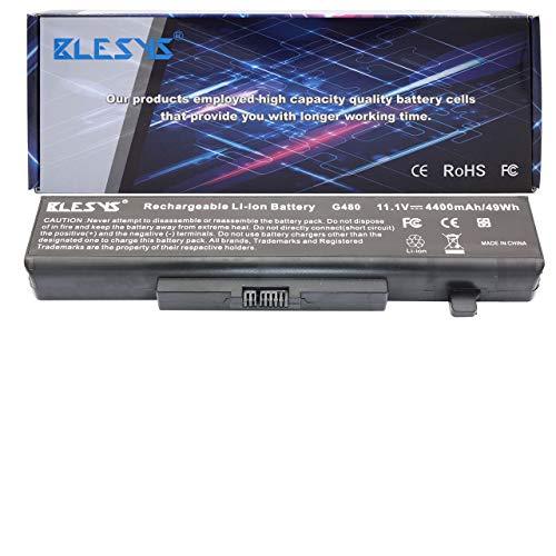 BLESYS 6-Cell 45N1048 45N1049 L11S6Y01 L11L6F01 Kompatibel mit Laptop Akku Lenovo IdeaPad G480 G485 G500 G505 G510 G580 G580 G585 G700 G710 Y480 Y580 V580 Z380 Serie Notebook Akku