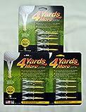 4 Yards More Golf Tee (2 3/4') 3 Pack (12 Tees)