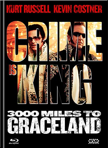 Crime is King - 3000 Miles to Graceland [Blu-Ray+DVD] - uncut - limitiertes Mediabook Cover B