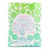 Mum & You Nappychat Eco-Windeln, Gr. 2 (72 Stück). Bis zu 12 Stunden Trockenheit. Dermatologisch getestet diaper, ohne Chlor und Duftstoffe. - 2