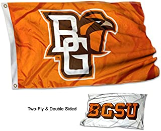 College Flags & Banners Co. Bowling Green State University Falcons Double Sided Flag