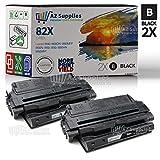 AZ Supplies 互換トナーカートリッジ HP 82X (C4182X) 交換用 - 2 ブラック