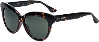 Isaac Mizrahi Designer Sunglasses IM85-20 in Dark Tortoise with Grey Lenses