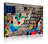 DekoArte 351 - Cuadros Modernos Impresión de Imagen Artística Digitalizada | Lienzo...