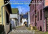 Die schönsten Orte in der Eifel - Kronenburg (Tischkalender 2022 DIN A5 quer)