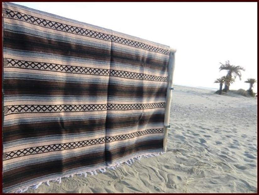 ひどく奪う読みやすさRUG&PIECE ネイティブ柄 メキシカンラグマット180cm x 145cm
