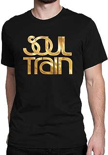 JIANGMUYA Men's Soul Train Gold Logo T-Shirt