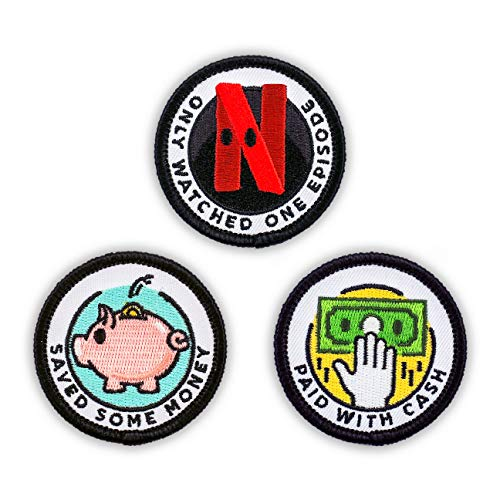 Great Features Of Winks For Days Adulting Merit Badge Embroidered Iron-On Patches (Achievements - Se...