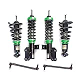 camaro lowering - Rev9 R9-HPX-1028 Hyper-Street ONE Coilover Lowering Kit, Adjustable, Compatible With Chevrolet Camaro Coupe 2010-15
