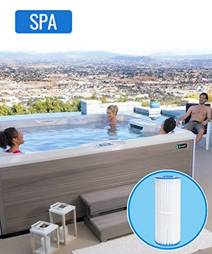 Future Way Hot Tub Filter Replacement for Jacuzzi J200 Series, Pleatco PRB50-IN, Unicel C-4950, Filbur FC-2390, 50 sq.ft Hot Spring Spa Filter Cartridges, 3-Pack