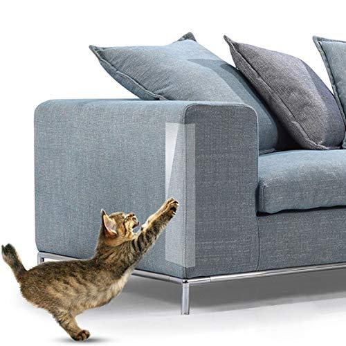 POPETPOP Pegatina rascadora para Gatos Petaca Protector para rasguños para Gatos Pegatina raspado para Gatos Protector para arañazos para Gatos Escudo para Gatos Ama a tu Gato y Protege tu sofá