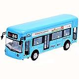 Black Temptation Blaues Kinderspielzeug-Auto mit Licht und Soundeffekt-Spielzeug-Bus -