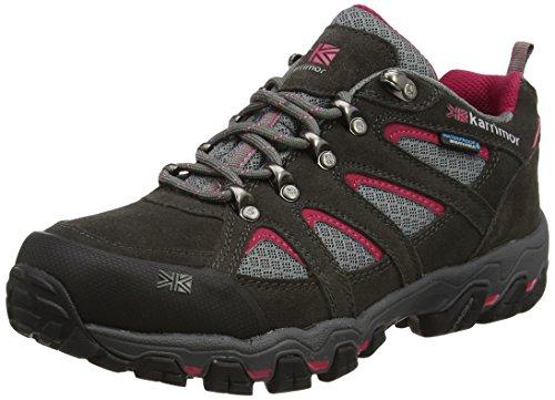 Karrimor Womens Bodmin 5 Ladies Weathertite Low Rise Hiking Boots Grey Dark Grey 7 UK