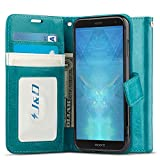J&D Case Compatible for Xperia XZ3 Case, Wallet Stand Slim